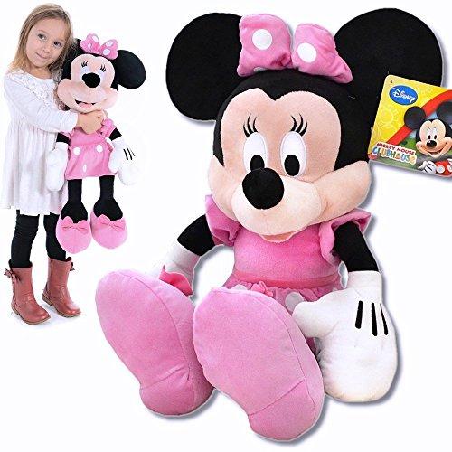 Plüschtier Minnie Maus große XXL Plüschfigur Disney aus Micky Maus Wunderhaus 62cm (Minnie Maus Kopf)