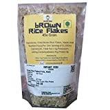 #1: Kerala Brown Rice Flakes-Fried, Rich in Natural Bran,Kerala Aval,Brown Rice Poha, Bran Rich Chura