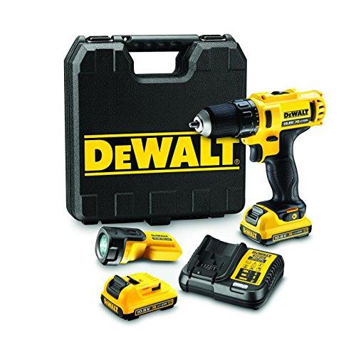 DeWalt 10,8 V / 2,0 Ah Akku-Bohrschrauber-Set, DCD710D2F-QW