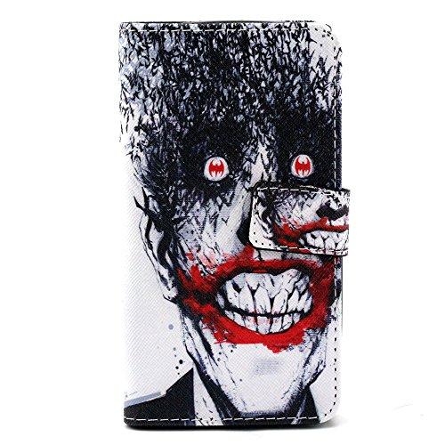 Voguecase® Pour Apple iPhone 6 Plus/6s Plus 5,5 Coque, Etui Housse Cuir Portefeuille Case Cover (my phone 03)de Gratuit stylet l'écran aléatoire universelle Devil