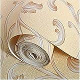 ZHAORLL 3D-Geometrie Rose Wildleder Vliestapete Einfachen Europäischen Schlafzimmer Wohnzimmer TV Hintergrund Wand Papier Nicht Selbstklebende 53CM * 10M