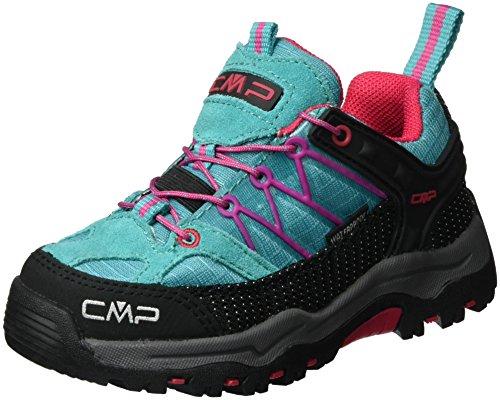 CMP Unisex-Kinder Rigel Low Trekking- & Wanderhalbschuhe, Türkis (Curacao L609), 33 EU
