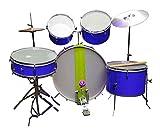 Cheap & Best 7pcs.Basic Blue Drum Set