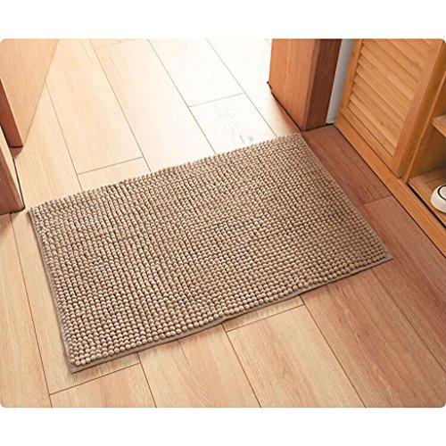 Hmy LRW Badematten Küche Badezimmer Tür Matte Mat Mat Haushalt Saugfähigen Pads (Color : C, Size : 40x60cm)