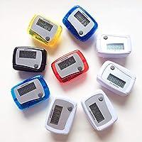 gohigher Pedometer Portable Mini Digital LCD Sports Walking Running Step Counter Meter Random Color