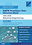 GATE Previous Year Solved Question Bank (EE) Volume 2 by Kreatryx