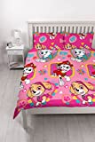 Paw Patrol 'Forever' Double Bettbezug Set – Repeat Print Design