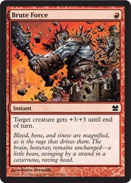 Magic: the Gathering - Brute Force (107) - Modern Masters - Foil by Magic: the Gathering