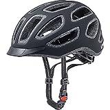 Uvex Fahrradhelm City E, Black Mat, 52-57, 4101840115