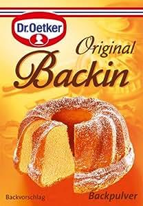 Dr. Oetker Backin Backpulver, 18er Pack (18 x 10er packs a