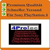 4 x Entspiegelnde Displayschutzfolie Bildschirmschutzfolie von 4ProTec für Sony Playstation 4 - Nahezu blendfreie Antireflexfolie