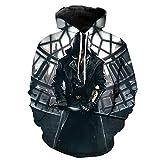BORO-WY Hoodie Unisex Assassin's Creed, 3D-bedruckter Pullover, Otaku, Rollenspiele, Comics, Animationsdesign, M