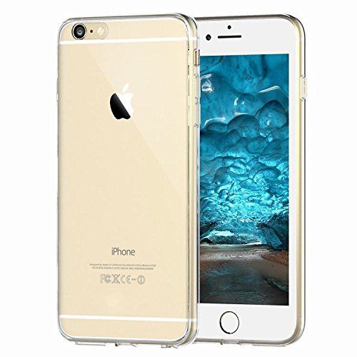 Heartly Ultra Thin 0.3mm Clear Transparent Flexible Soft TPU Slim Back Case Cover For Apple iPhone 6/6S Plus 5.5 inch ( Not For iPhone 6/6S)  available at amazon for Rs.159