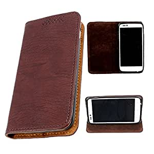For LG Optimus L5 Dual (E615) / L5 (E612) - DooDa Quality PU Leather Flip Case Cover With Smooth inner Velvet To Keep Screen Scratch-Free