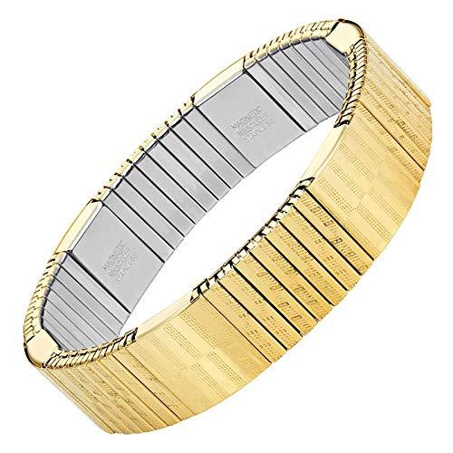 Armbänder Charme Kostüm - SCLXTC Armband MännerElastische Magnetische Armband Imitation Kostüm Armband Schmuck Magnete Armreif ArmbandCharme