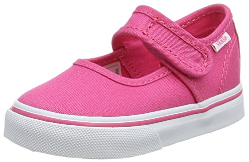 Vans Unisex Baby Mary Jane Sneaker Hot Pink/True White 80a, 25.5 EU (Janes Mary Vans)