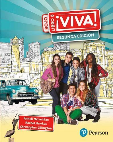 Viva 3 rojo Segunda edicion pupil book