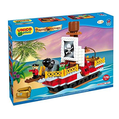 Androni - Unico Plus 8536 - Pirati - Barca 126 pezzi
