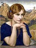 Poster 60 x 80 cm: Porträt Einer Frau (Enigma). 1923 von John Bernard Munns/ARTOTHEK - Hochwertiger Kunstdruck, Neues Kunstposter