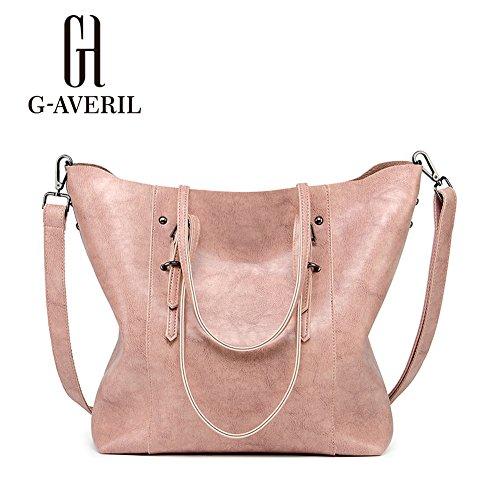 G-AVERIL, Borsa a mano donna Rosa Pink Pink