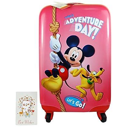 Disney Adventure Day Mickey y Pluto Bolso Mochila Trolley Portátil de hasta Maletas Equipaje