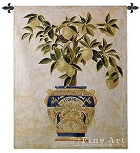 Italien Citron Arbre mur tapisserie