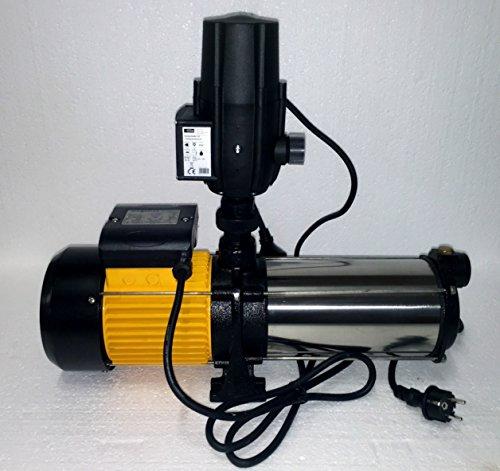 megafixx HMC8SC-G94174 Kreiselpumpe - 1700 Watt | 8 stufig | 8,5 Bar - Hauswasserautomat mit Druckschalter von Güde - 2