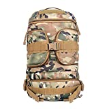 Lmaoda Outdoor-Paket Rucksack für Ausbildung Wandern Camping Trekking Jagd Reise Umhängetasche Taktische Armee Fan Bergsteigen Rucksack Große Kapazität (Color : Camouflage)