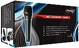 Prodipe MC1-Condenser - Microfono a condensatore, colore nero