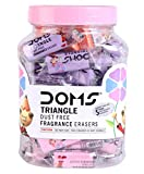 PRACHISTATIONERY Doms Non Toxic Eraser, Pack of 50