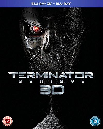 Terminator Genisys 3D [Edizione: Regno Unito] [Blu-Ray] [Import]