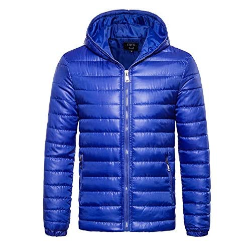 51u%2Bah0boQL. SS500  - ZiXing Men's Winter Hooded Down Puffer Jacket Coat Packable Ultra Light Weight