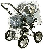 DIAGO 30005.75089 Komfort Regenschutz Kombi-Kinderwagen