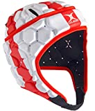 Gilbert Falcon 200 Angleterre - Casque de Rugby - Rouge/Blanc - taille L