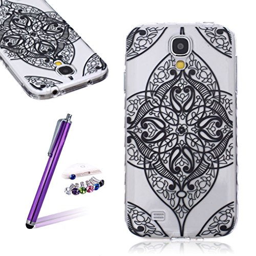 LOOKAY Samsung Galaxy S5 Coque Housse Silicone Etui Case Cover Transparent Crystal Clair Soft Gel TPU (B11) 22HUA