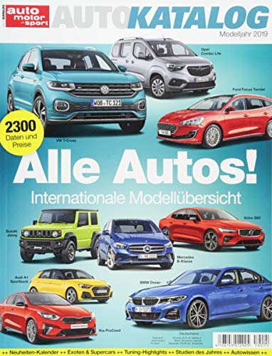 Auto-Katalog 2019 (Auto-motoren)