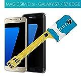 Magicsim Elite Dual Sim Adapter für Samsung Galaxy S7und S7Edge