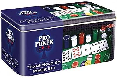 Tactic - 03095 - Poker - Propoker : Boîte Métal Tout En 1