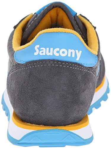 Chaussure de sport femme Saucony Jazz Low Pro - Charcoal/Yellow Charcoal/Blue