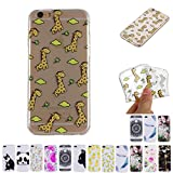 V-Ted Coque Apple iPhone 7 Plus 8 Plus Girafe Silicone Ultra Fine Mince Bumper Housse...