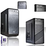 PC DESKTOP INTEL QUAD CORE CON LICENZA WINDOWS 10 PROFESSIOANAL 64 BIT/HD...