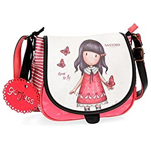 Gorjuss Time To Fly Bolso Bandolera, 23 cm, 4.01 litros, Multicolor