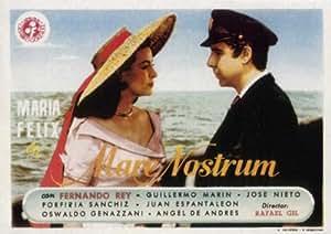 Mare nostrum Affiche du film Poster Movie Panacée de jument (27 x 40 In - 69cm x 102cm) Spanish Style A