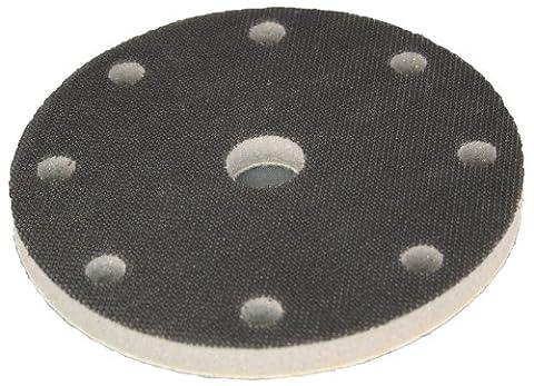 Softauflage Ø 150mm 8+1-Loch (Festool) Interface-Pad für Schleifteller Polierteller Stützteller für Klett-Schleifscheiben - DFS