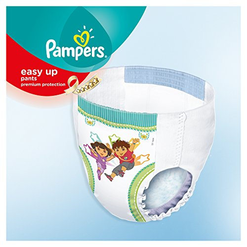 Pampers Windeln Easy up Gr. 4 Maxi 8-15 kg Mega plus Pack, 1er Pack (1 x 96 Stück) - 2