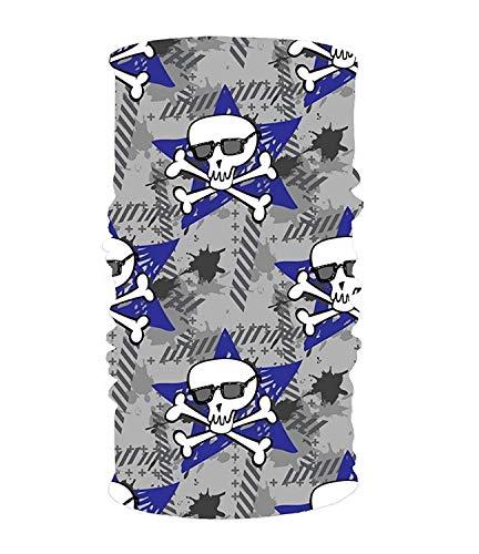 KAKICSA Headband Scary Halloween Headwear Sport Sweatband Yoga Head Wrap for Men ()