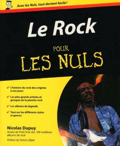 Le Rock pour les Nuls par Nicolas Dupuy
