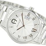 Aigner 4050649525538-Uhr für Männer, Edelstahl-Armband Silber