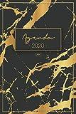 Agenda 2020: Agendas 2020 Semana vista - Organiza tu día - Calendario 2020 - Agenda semanal,...