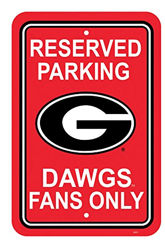 Fremont Die Georgia Bulldogs College Sports Team Logo, Bedruckt, Home Office Dorm, Dekoration, 30,5 x 45,7 cm -